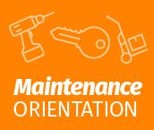 Maintenance Orientation